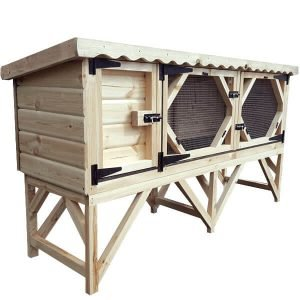6ft Single Rabbit Hutch