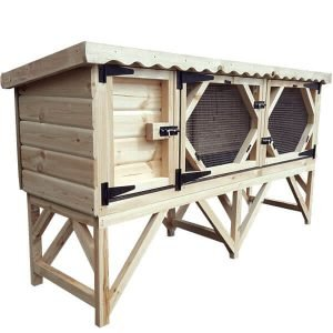7ft Rabbit Hutch