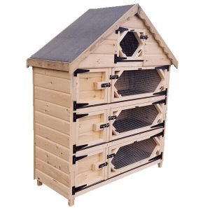 Triple Deluxe Guinea Pig Hutch